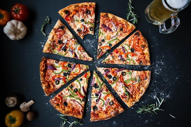 Pizza bei La Vineria Starnberg